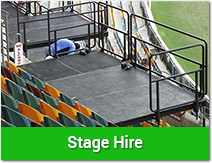 Stage Hire Brisbane